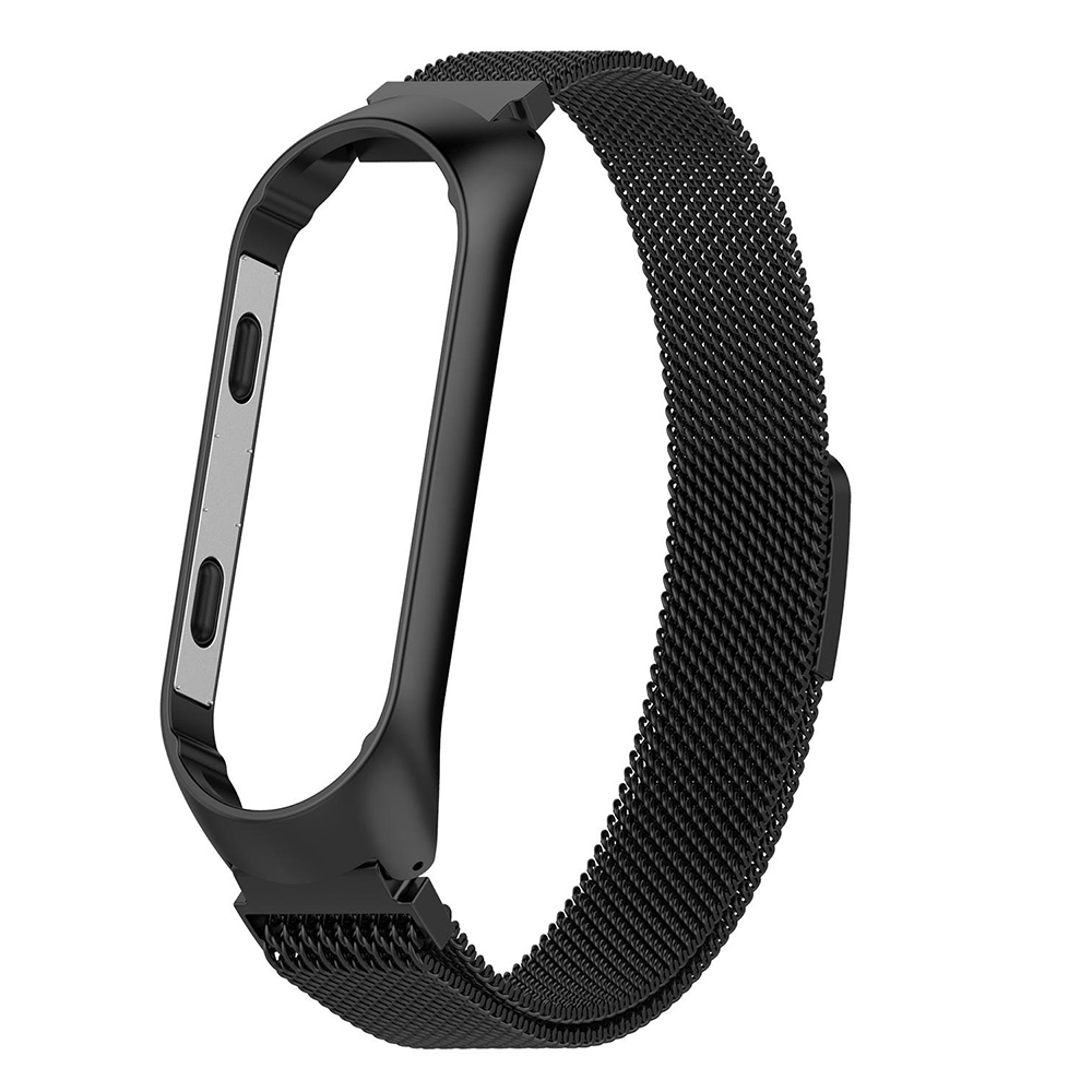 For Xiaomi Mi Band 4 Metal Strap Vacuum Plating Stainless Steel Ultra Thin Replaceable Watch Band For Mi Band 3 Bracelet in Smart Accessories from Consumer Electronics