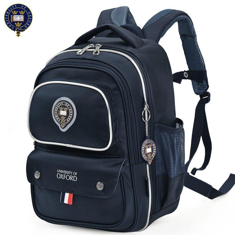 UNIVERSITÄT VON OXFORD Elementare KINDER Sicherheit ORTHOPÄDISCHE Schule Tasche schulter rucksack portfolio für jungen klasse 1 2-in Schultaschen aus Gepäck & Taschen bei  Gruppe 1