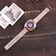 Creative Striped Dial Women's Watches