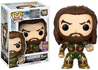 2017 SDCC Exclusive Funko pop Official DC Justice League Aquaman with Motherbox Vinyl Action Figure Collectible Model Toy
