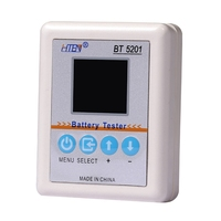 Bt5201 Battery Internal Resistance Meter Tester High Precision Easy To Use Battery Maintain Tool With With Led Display Battery Accessories     -