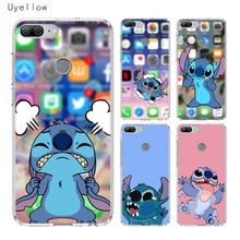 Uyellow Cartoon Cute Stitches Silicone Phone Case For Huawei Honor 8A 8X 8C 8S 9 10 20 lite Pro 20i V20 Cover Coqeu