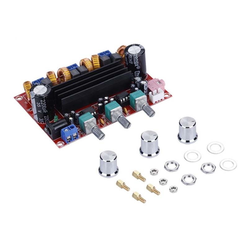 TPA3116 2.1 Digital Audio Amplifier Board TPA3116D2 Subwoofer Speaker Amplifiers DC12V-24V 2*50W+100W