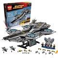 3057 Unids LEPIN 07043 SY911 Super Heroes El ESCUDO Helicarrier Modelo Kits de Construcción Juguetes de los Ladrillos Bloques Compatible 76042
