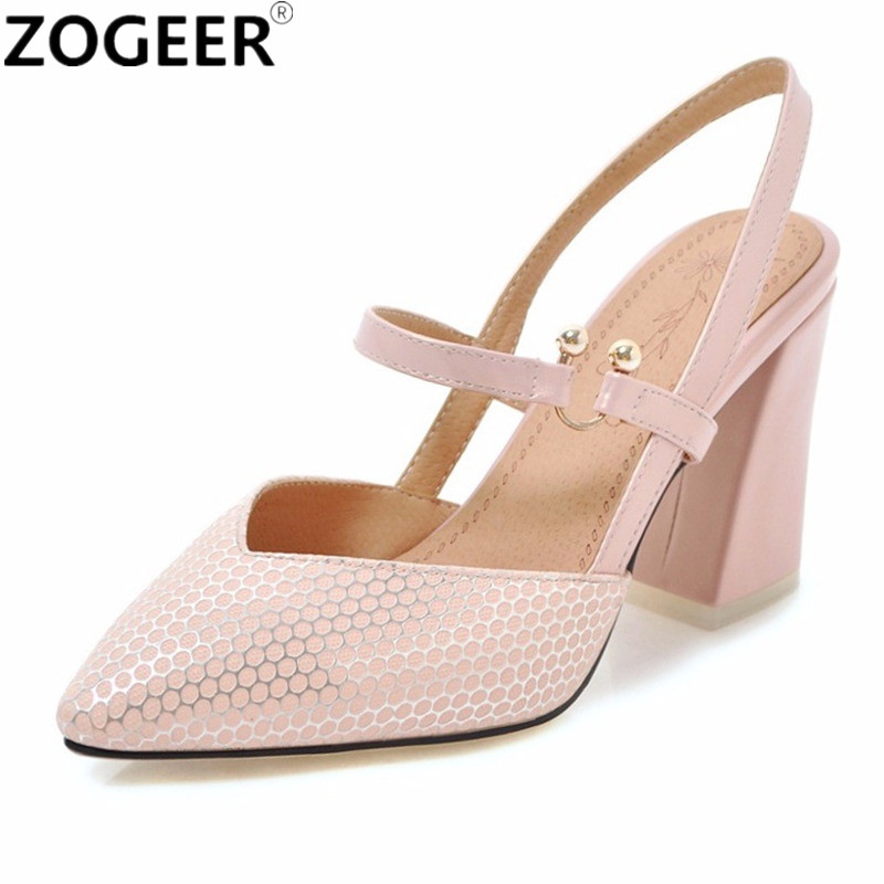 2fa51ae69e773 Plus Size 46 New 2018 Summer Women Sandals Fashion Casual High Heels Flip  Flops Brand Pointed Toe Black White Pink Shoes Woman