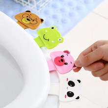 1pcs portable Toilet Seat Lifters convenient to Toilet lid device is mention Toilet potty ring handle home Bathroom products set(China)