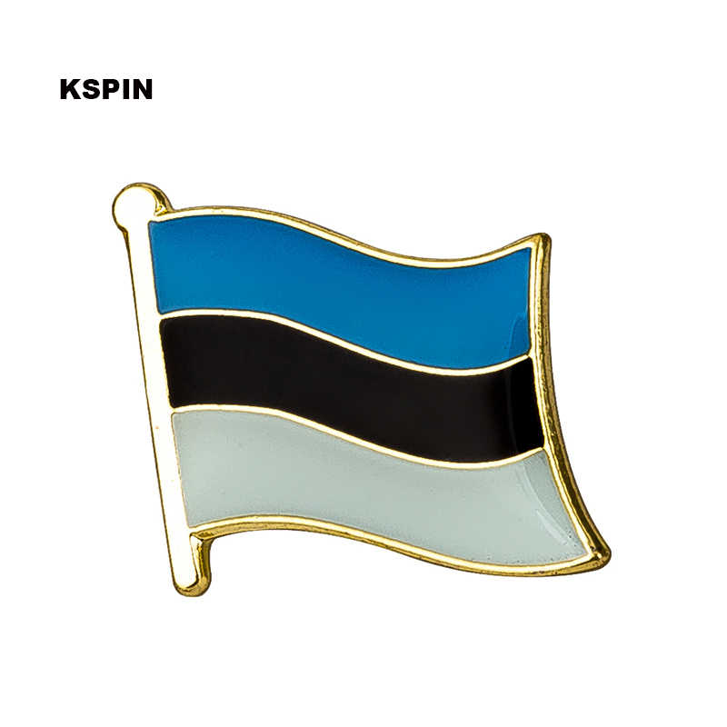 Estonia bandiera pin spilla distintivo Spilla Icone 1PC KS-0013