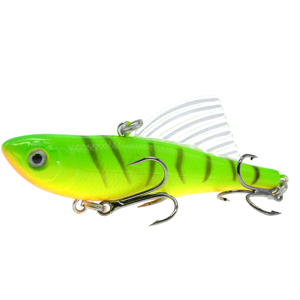 Image 3 - WLDSLURE Sinking Vibration Fishing Lure Hard Plastic Artificial VIB Winter Ice Jigging Pike Bait Tackle Isca Peche-in Fishing Lures from Sports & Entertainment