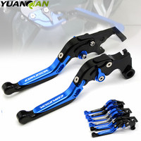 FOR CBR 250R LOGO CNC Adjustable Folding Extendable Motorcycle Brake Clutch Levers For Honda CBR 250 R ABS CBR250R 2011 2013