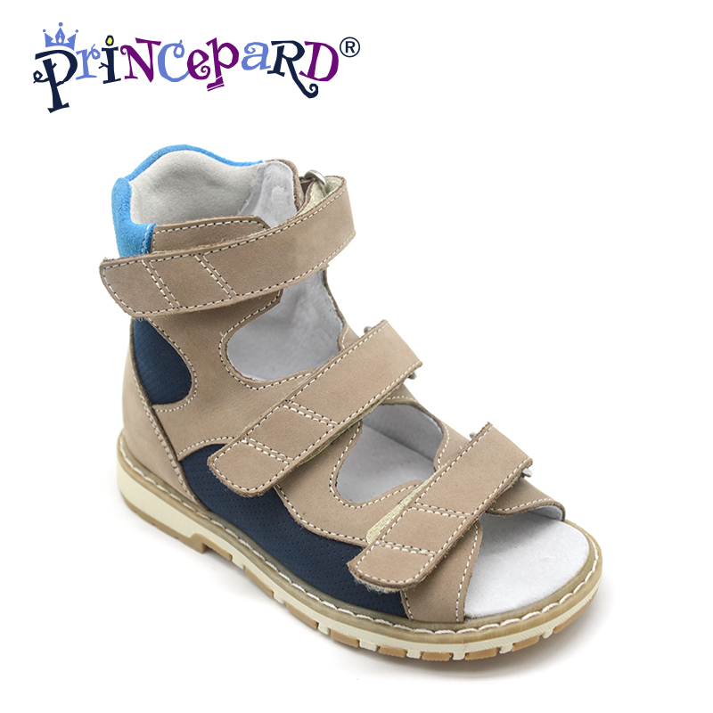 Princepard Need Customize in Advance 24 days 2018 New othopedic footwear for boys  3 colors of orhopedic shoes for kids days of reading