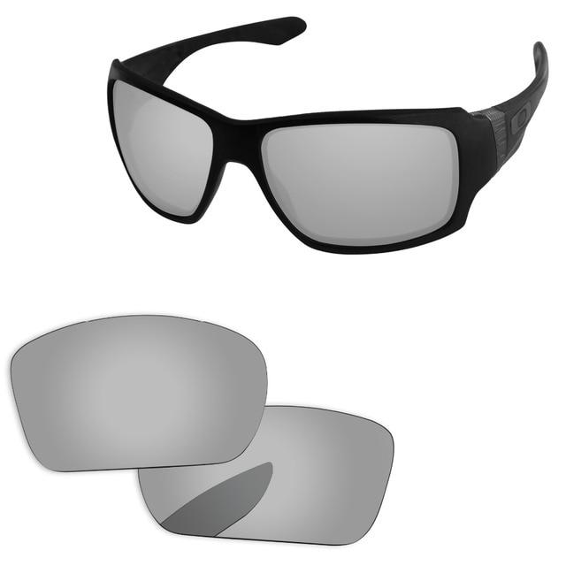 b4256eb7587 Chrome Silver Mirror Polarized Replacement Lenses For Big Taco Sunglasses  Frame 100% UVA   UVB Protection
