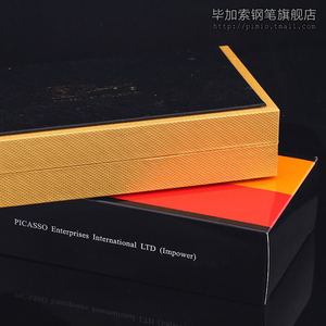Image 5 - Pimio 933 럭셔리 골드 Metla 롤러 볼펜 0.7mm 검정 잉크 리필 볼펜 선물 펜 쓰기 문구 무료 배송
