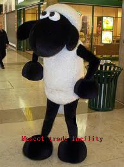 Adult sheep mascot role-playing clothing size Sean mascot costume free shipping Halloween party