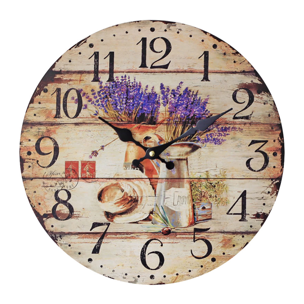 online get cheap lavender wall clock aliexpress com alibaba group