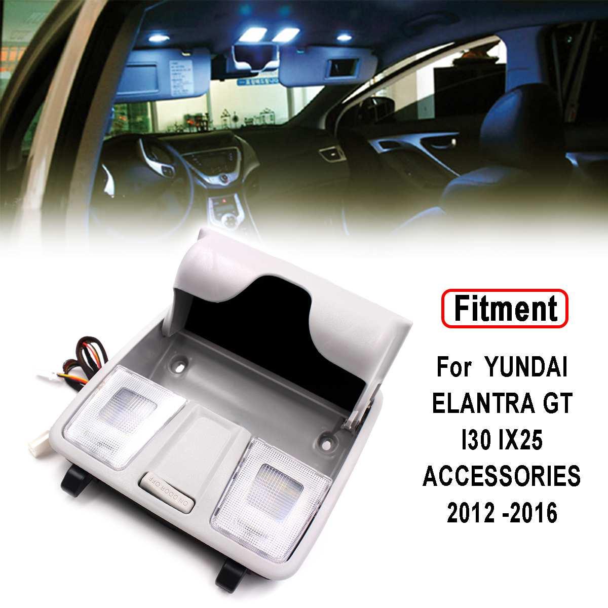 Lamp Overhead Console Reading Map Glasses Box For HYUNDAI ELANTRA GT I30 IX25 ACCESSORIES 2012 2013 2014 2015 2016