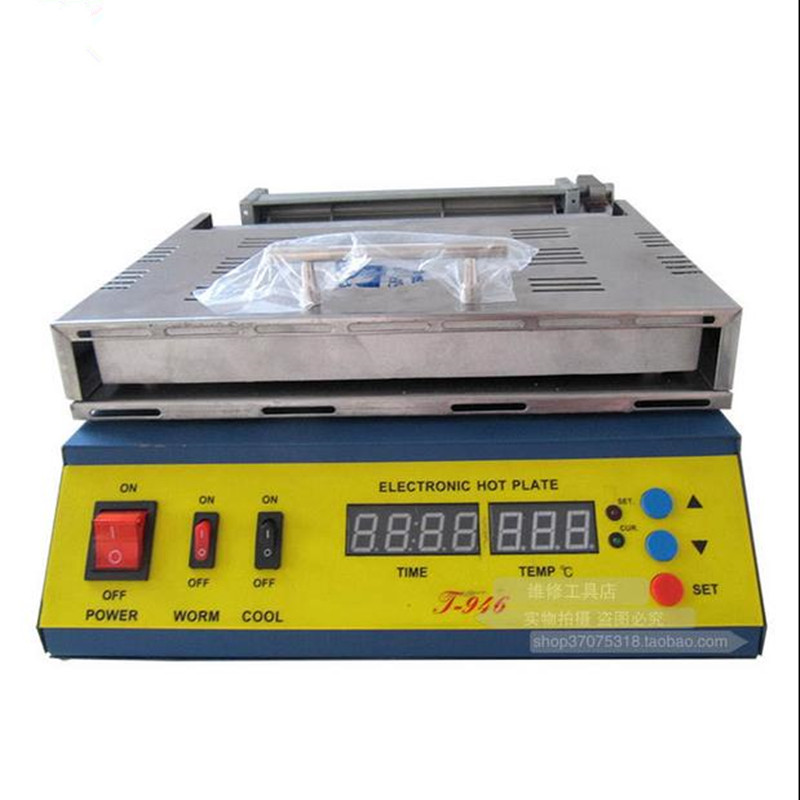 PUHUI T-946 180 * 240mm Heating Size 800W Electronic LED Heating Plate PCB preheating welding station