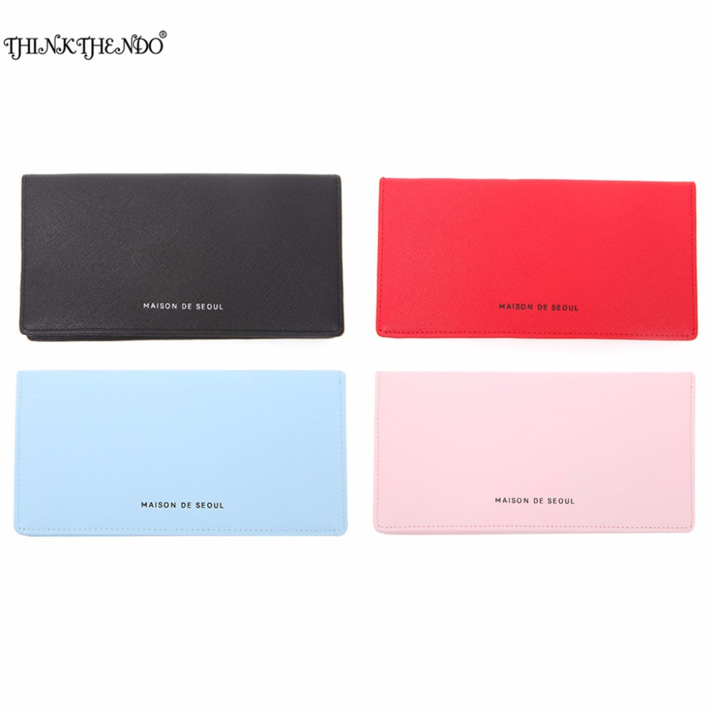 THINKTHENDO 19x9.5x1cm Women Lady Faux Leather Clutch Coin Phone Bag Long Purse Wallet Card Holder Case superior hobby jx bls 7114mg 14kg high precision steel gear full cnc aluminium shell structure digital brushless standard servo