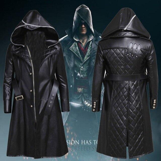 CosplayDiy Assassin's Creed Syndicate Jacob Frye Cosplay Jacket Costume For  Adult Men Halloween Only Coat Custom