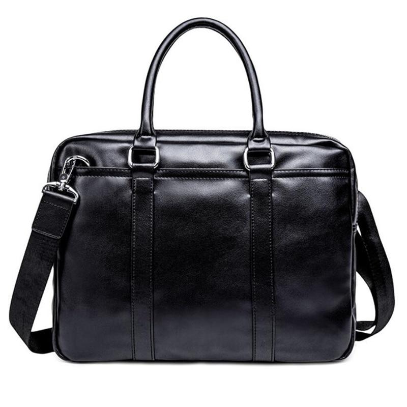 New Business Men'S Handbag High Quality Fashion Shoulder Bag Vintage Messenger Bags Practical Briefcase Crossbody Bags For Men