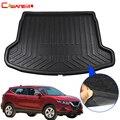 Cawanerl автомобильный коврик для багажника  поднос для багажника  грузовой пол  коврик для Nissan Qashqai J11 5-Seat 2014 2015 2016 2017 2018 2019