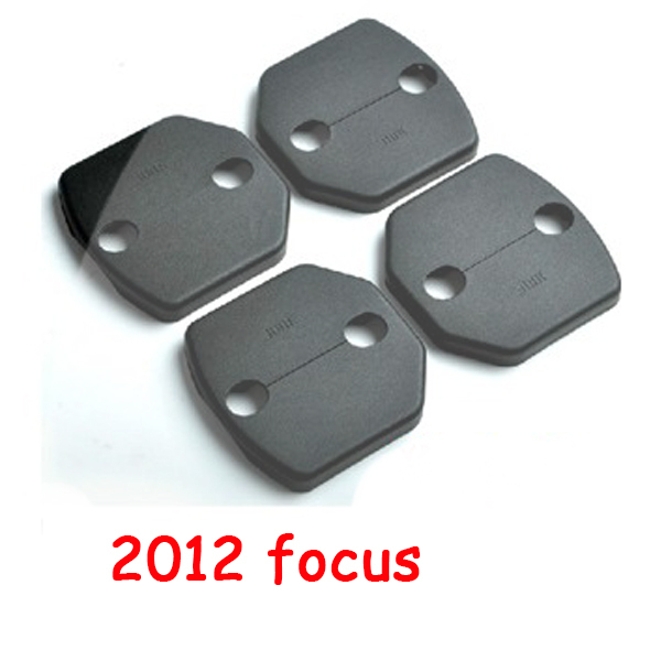 4 pcs/set Door Striker Cover Lock Catch Protect Cover For Ford Focus 2012