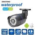 IP Camera 720P 1.0MP Bullet Waterproof Night Vision Out/Indoor IP65 waterproof Security Camera ONVIF P2P CCTV Cam 3.6mm lens