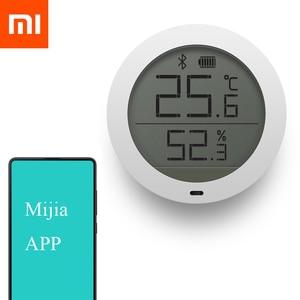 Image 2 - Nuovo Xiao mi bluetooth Temperatura Hu Mi dity sensore termometro Digitale Misuratore Di Umidità sensore Di Schermo lcd Per MI Jia mi casa app