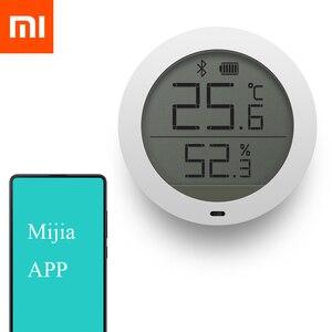 Image 2 - Цифровой термометр Xiaomi, Bluetooth датчик температуры и влажности, измеритель влажности, ЖК экран, для приложения Mijia mi home