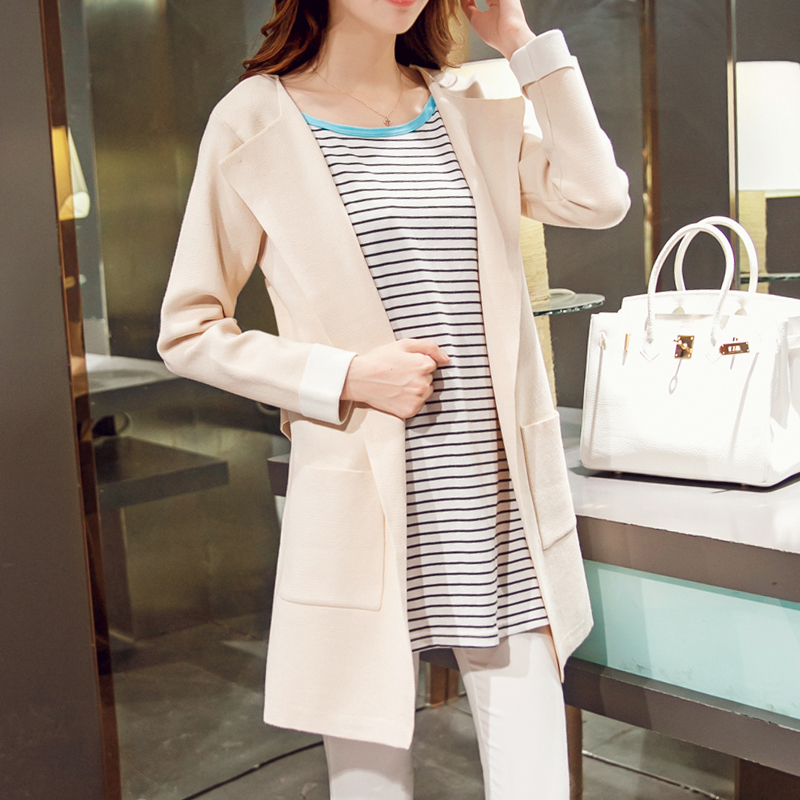 In the spring of 2017 new Korean women sweater cardigan loose all-match fashion jacket student spring spring