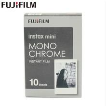 Оригинальный Fujifilm Fuji Instax Mini 8 монохромный Плёнки 10 Простыни детские для 8 50 s 7 s 90 25 поделиться SP-1 Мгновенное камер новое поступление