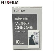 Original Fujifilm Fuji Instax Mini 8 Monochrome Film 10 Sheets For mini 11 7 7s 8 9 50s 7s 90 25 Share SP 1 Instant Cameras
