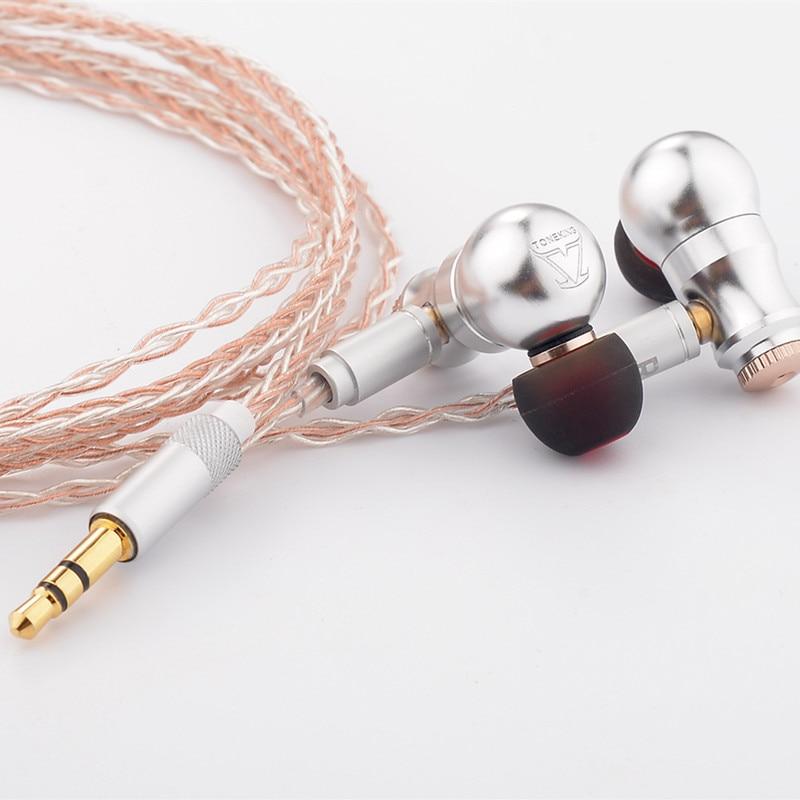 2018 nouveau TONEKING neuf queue dans l'oreille écouteurs en alliage complet écouteurs neuf airs HIFI fièvre métal casque MMCX écouteurs BL1/TO600/65 - 4