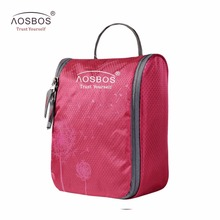 Aosbos Waterproof necessaries Makeup organizer Toiletry Casewomen men Travel kits make up Cosmetic Bag organizador de