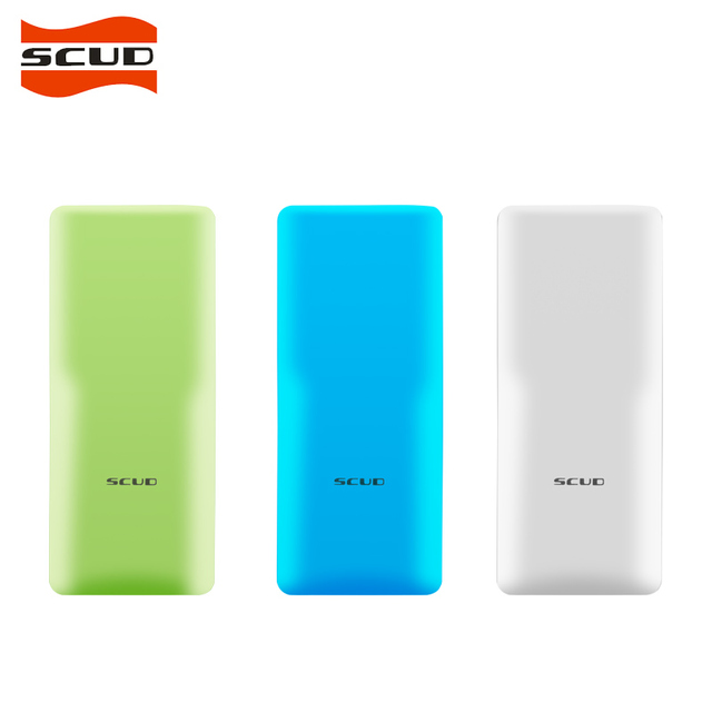 SCUD A8 Power Bank 10000mah External Battery Portable Mobile Fast Charger Dual USB Powerbank for Android and IOS Mobile Phones