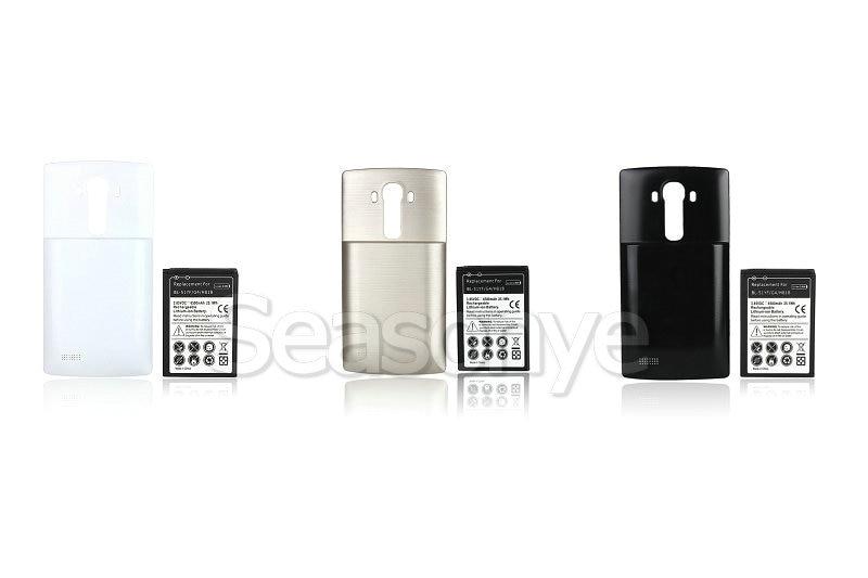 Seasonye 6500mAh BL-51YF Extended Battery + 3 Optional Color Cover Case For LG G4 H818/N VS999 F500 F500S F500K F500L H815 H810
