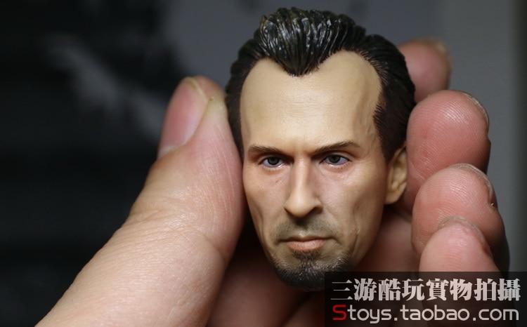 1/6 scale figure accessory Male Head shape Prison Break T-BAG Robert Knepper for 12 action figure doll Not included body