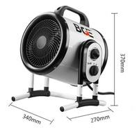 3000W Elektrische Heizung Hohe power Air Gebläse Luft Heizung für Bad Trockner Heißer Luft Fans BGP 1403 03-in Elektrische Heizungen aus Haushaltsgeräte bei