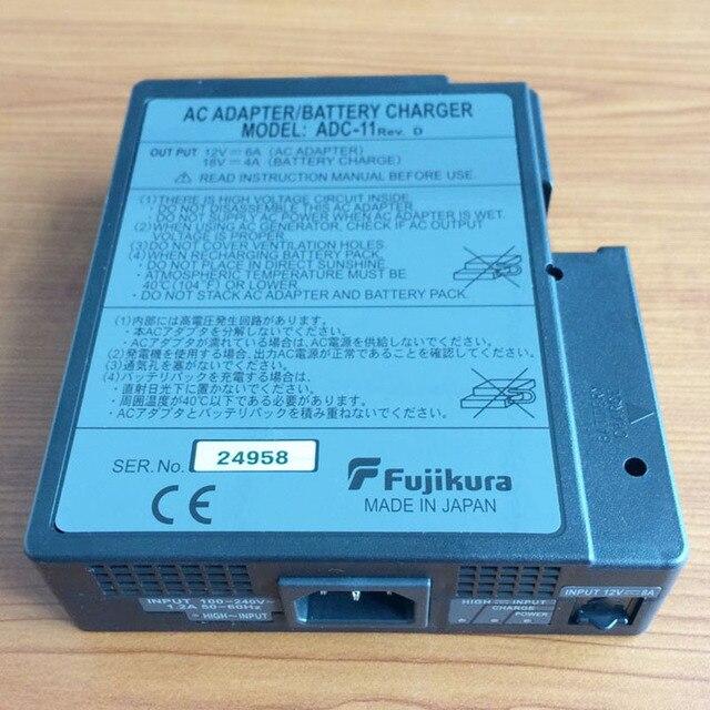 Original Fujikura FSM-50S FSM50R FSM-17S FSM-17R Fusionadora ADC-11 AC Adaptador de Cargador