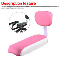 Road mountain bike bicycle rear seat sponge cushion with backrest soft and wearable riding equipment accessories|Bicycle Saddle|   -