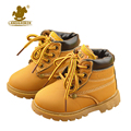 New kids niños nieve botas shoes para los muchachos de moda zapatos de Bebé Inferiores suaves de Arranque 21-30 Otoño Invierno Botas de niño Del Niño zapato