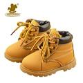 Nova crianças dos miúdos botas de neve shoes para meninos das meninas da moda Inicialização Do Bebê Fundo macio 21-30 Botas de Inverno Criança Outono Criança sapato