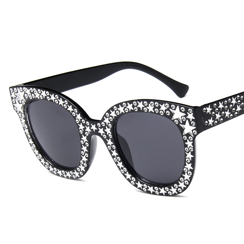 <font><b>Designer</b></font> <font><b>Brand</b></font> Star <font><b>Sunglasses</b></font> Luxury <font><b>Women</b></font> Transparent Female <font><b>Women</b></font> Male Female Shades Sun Glasses <font><b>Sexy</b></font> Woman Fashion 2018 image