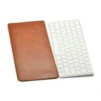 Прибытие продажа ультра-тонкий супер тонкий рукав чехол, микрофибра кожаный чехол для ноутбука только Клавиатура Apple Magic 2