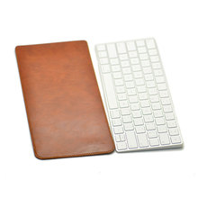Arrival selling ultra-thin super slim sleeve pouch cover,microfiber leather laptop sleeve case for Apple Magic KeyBoard 2