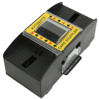 NOUVEAUX Jeux de société Automatique mélangeur De Cartes De Poker Batterie Exploité Casino Jeu Cartes À Jouer Brassage Machine Avancée Casino Robot