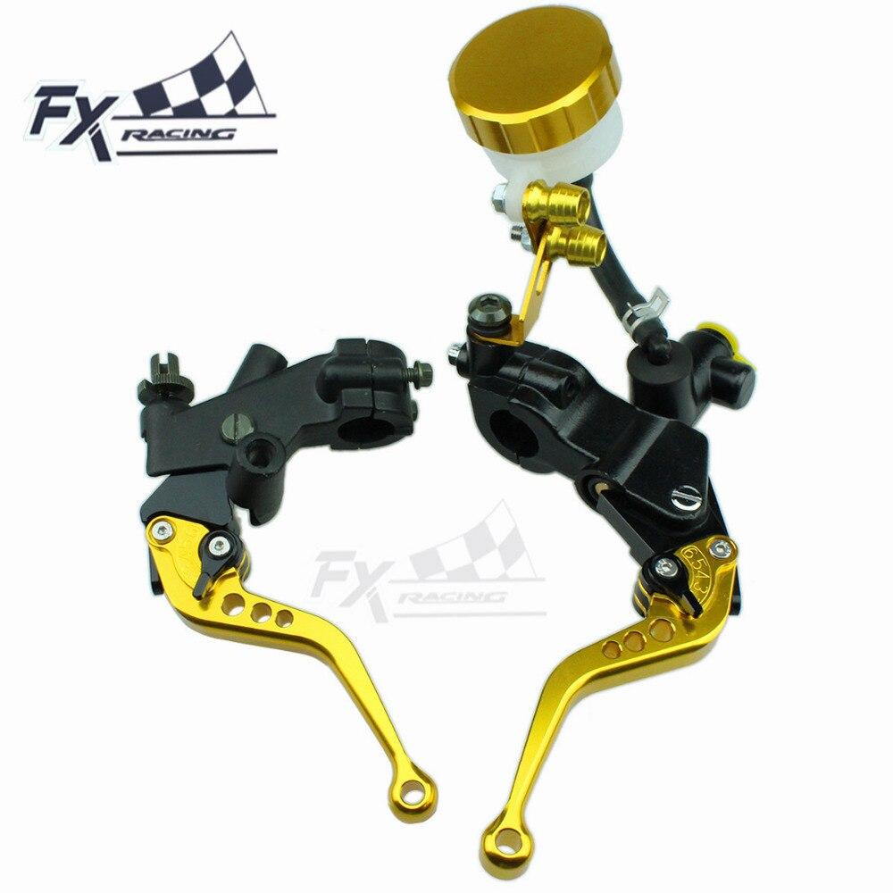 CNC Clutch Brake Levers For Honda Transalp XL600v 1997 Adjust Motorcycle FXCNC