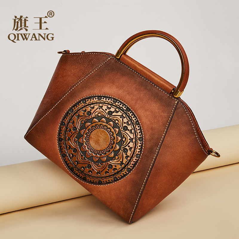 High Quality Women Bag luxury Tote Handbag Vintage Printing Fashion Genuine Leather Bags for Women Shoulder Bag bolsa femininaHigh Quality Women Bag luxury Tote Handbag Vintage Printing Fashion Genuine Leather Bags for Women Shoulder Bag bolsa feminina