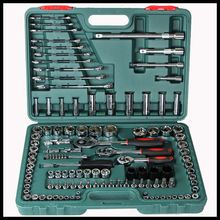121 pieces sets of auto repair tool combination set hardware toolbox sets of tools ratchet wrench tool kits