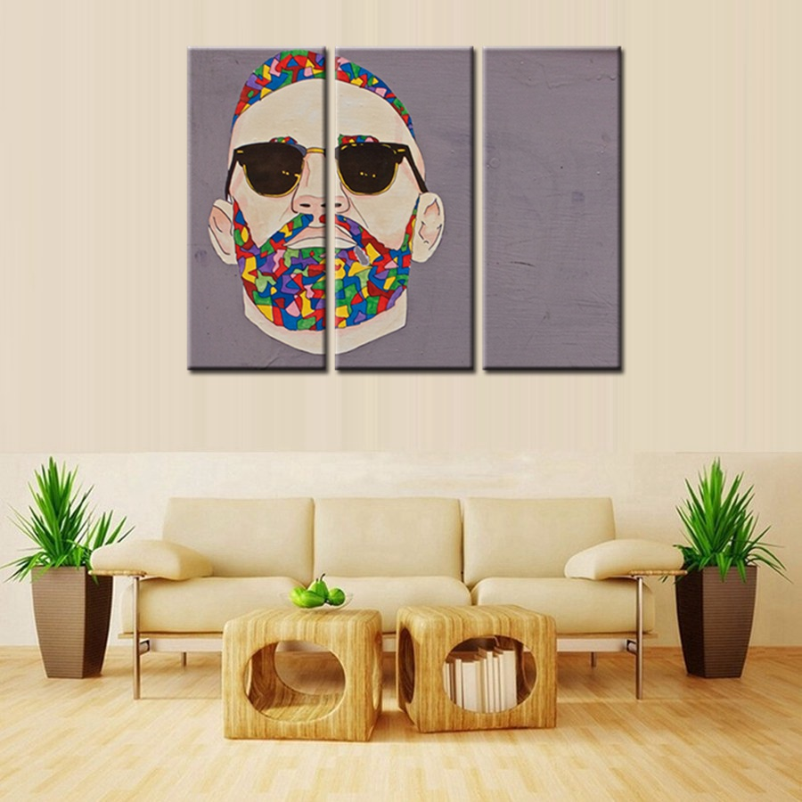 The Professional Graffiti Painting Print Canvas Leon Wall Art For Living Room Decor Cool Artwork