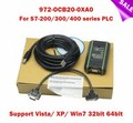 High quality 100% NEW 972-OCB20-0XA0 PC Adapter USB PLC Programming Cable For Siemens S7-200/300/400 PPI/MPI/DP, XP Win7 win8